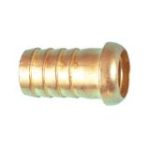 "Brass-plated ""zama"" round hose-holder"