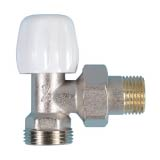 Double-tight elbow valve with eurocono connection