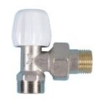 Double-tight elbow valve with pex-al-pex connection