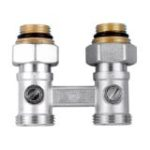 Double straight nickel h-valve