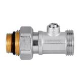Straight nickel valve