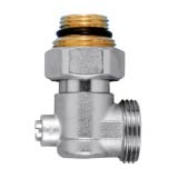 Elbow nickel valve