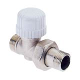 Nickel valve for copper tube